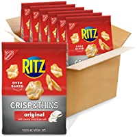 Deals on 6-Pk RITZ Crisp and Thins Original w/Creamy Onion and Sea Salt 7.1oz