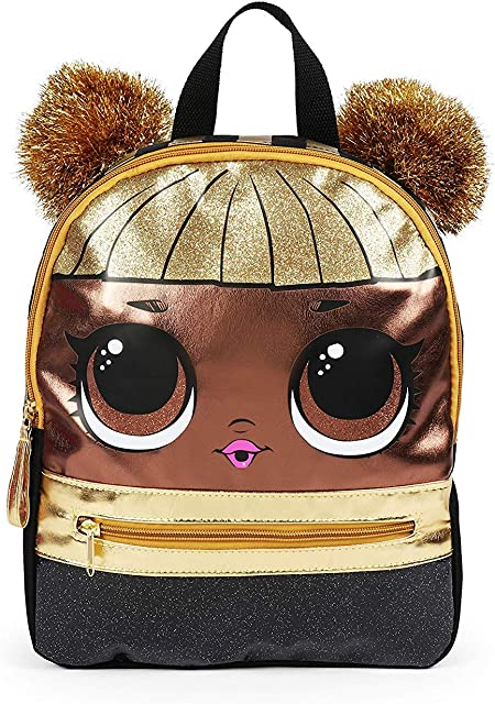 L.O.L. Surprise! Gold Mini Backpack |10x8x3 Inches