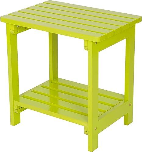 Shine Company Inc. 4104LG Rectangular Side Table