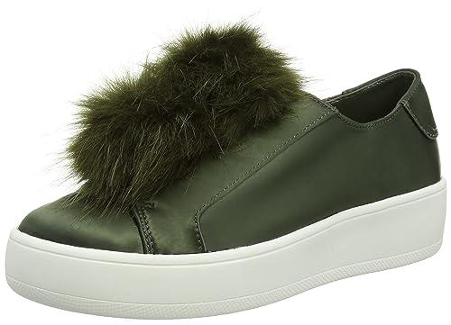 b1c5d6aec69 Steve Madden Women s Breeze Sneakers  Amazon.co.uk  Shoes   Bags