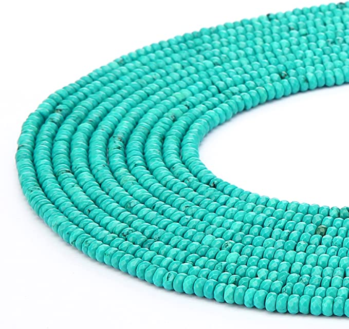 Natural Green Onyx Faceted Tear Drop Briolette Beads  4x6 mm  8\u201d strand