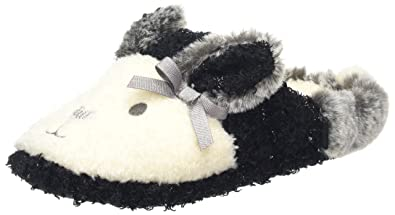 40b5b97a056 Totes Women s Novelty Rabbit Mule Slippers Low-Top  Amazon.co.uk ...