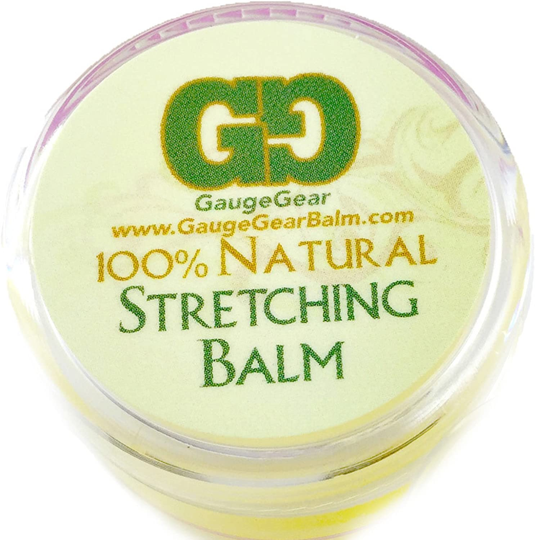 Bálsamo Gauge Gear para estiramiento de perforaciones (10 ml ...