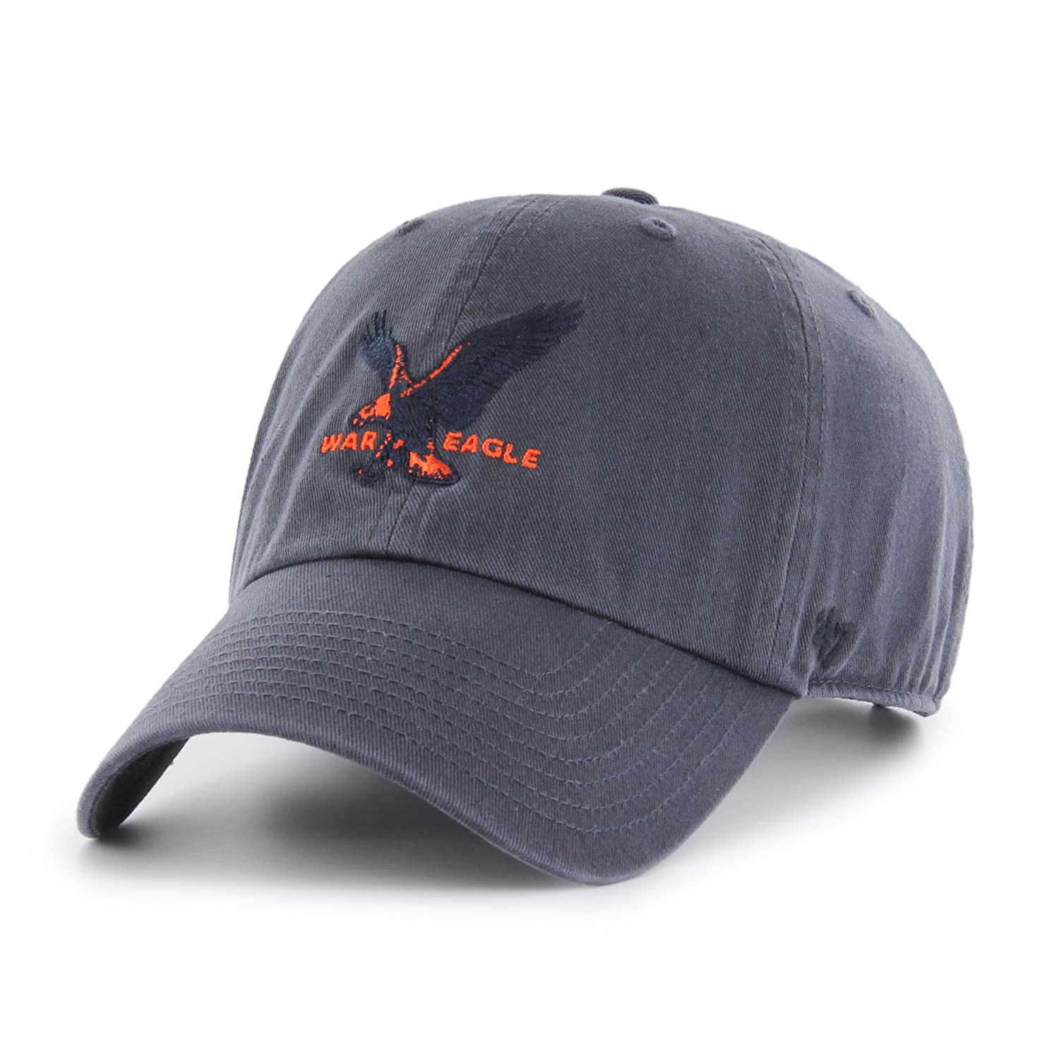 online retailer a08c1 fa948 NCAA Auburn Tigers Adult Unisex NCAA  47 Clean Up H-Series Adjustable Hat,  One Size, Vintage Navy  Amazon.co.uk  Sports   Outdoors