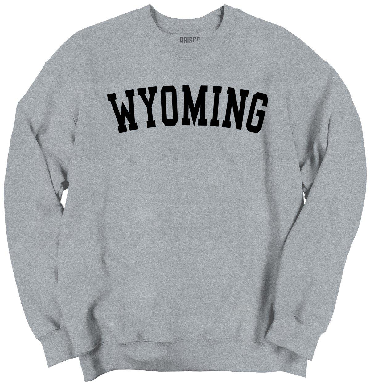 Wyoming State Shirt Athletic Wear USA T Novelty Gift Ideas Sweatshirt