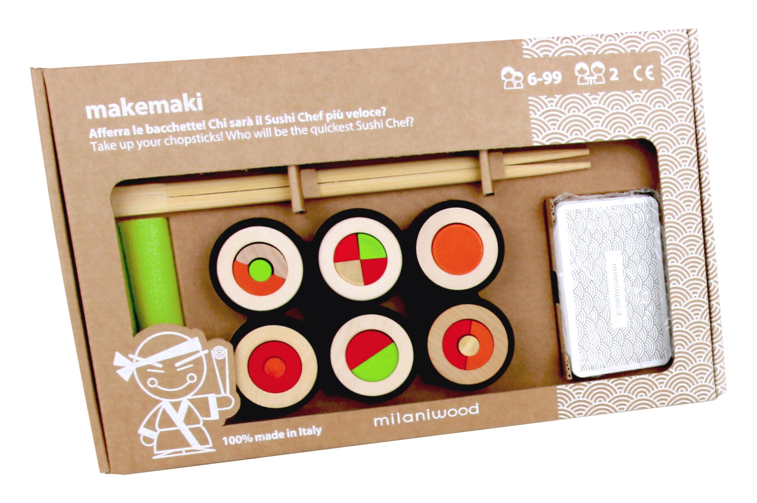 Makemaki Sushi Game, Multicolor