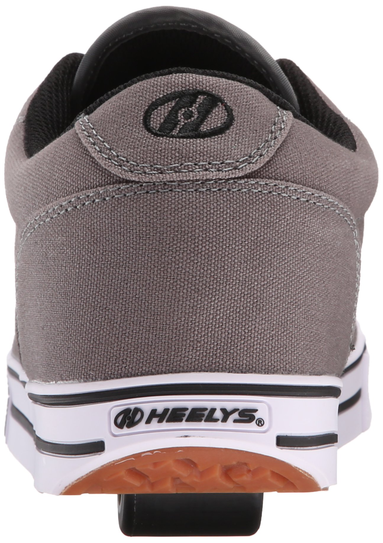 Heelys Men's Launch Fashion Sneaker Grey 10 M US by Heelys (Image #2)
