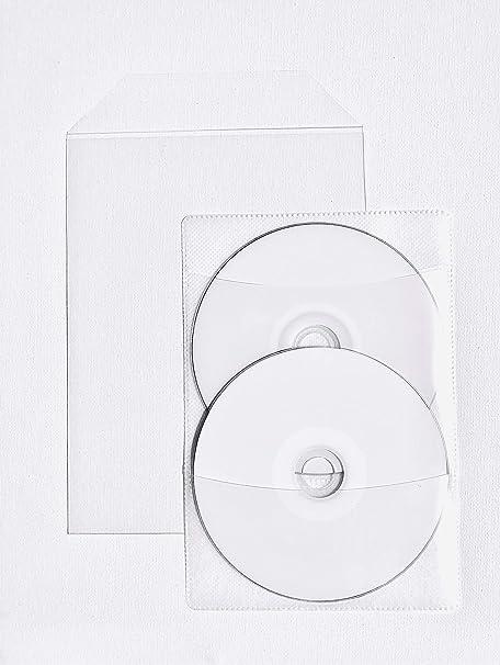 Amazon.com: Transparente CPP película fundas de plástico + 2 ...