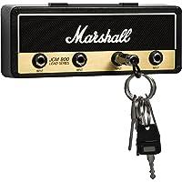P Pluginz Marshall JCM800 Estándar Jack estante montado en la pared V2.0- amplificador de guitarra titular de la clave Incluye 4 Guitarra Plug llaveros y kit de montaje en pared