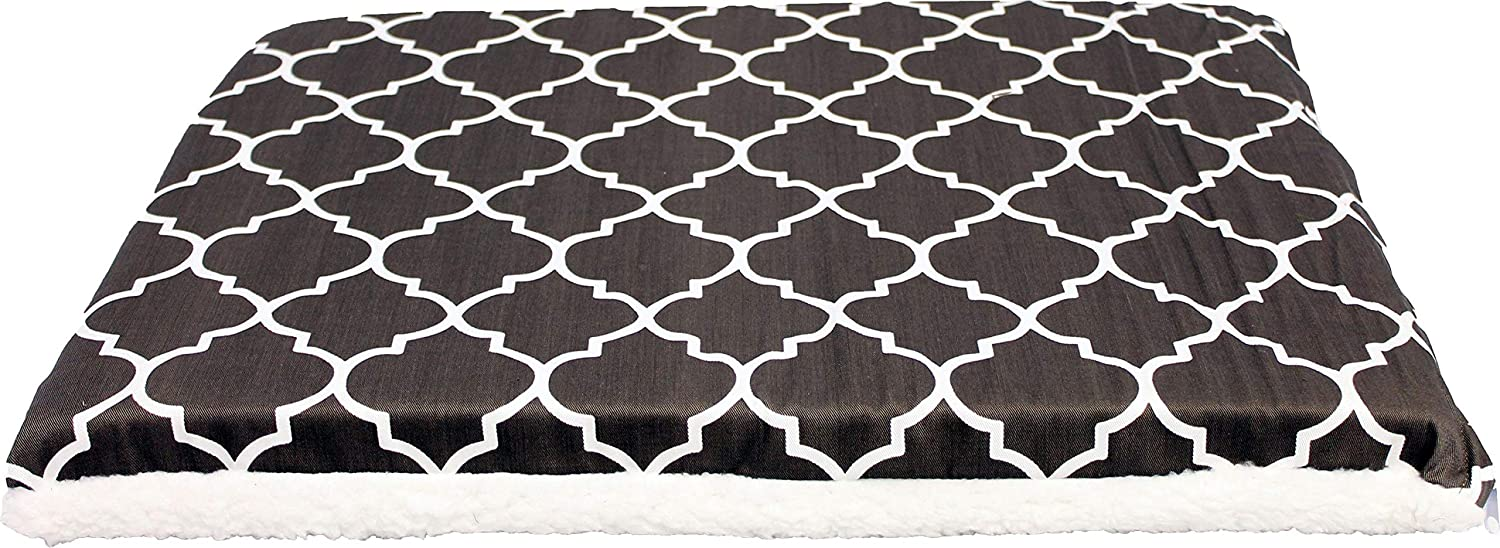 Midwest Metal Products 40724T-FBR 24  BRN Geo Crate Pad Quantity 6