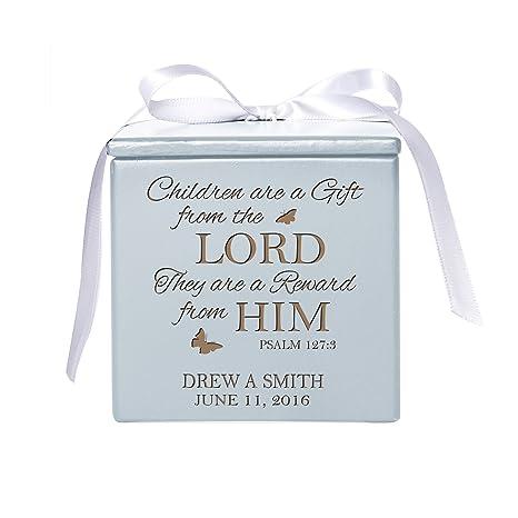 amazon com personalized baby birth keepsake box for newborn boys