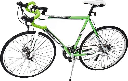 Takara Genkai ciclocross Bicicleta, Verde Claro y Blanco: Amazon ...