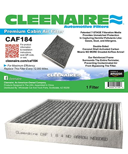 Cleenaire CAF184 The Most Advanced Protection Against Bacteria Dust