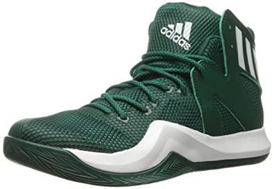 adidas Performance Men's Crazy Bounce Basketball Shoe, Collegiate GreenWhiteGreen, 4