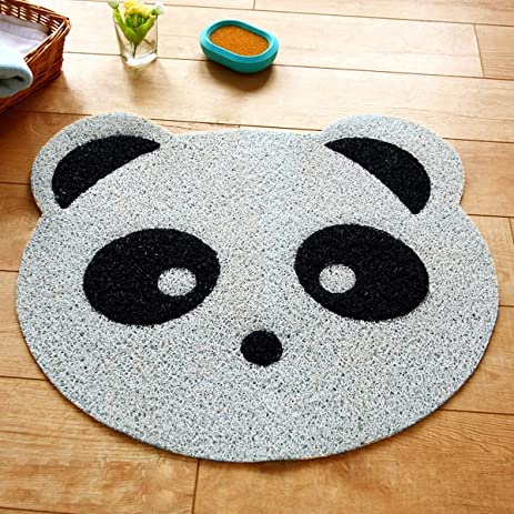 outdoor shower mats amazoncom ustide anti skid pvc kids bath rug cute panda massage