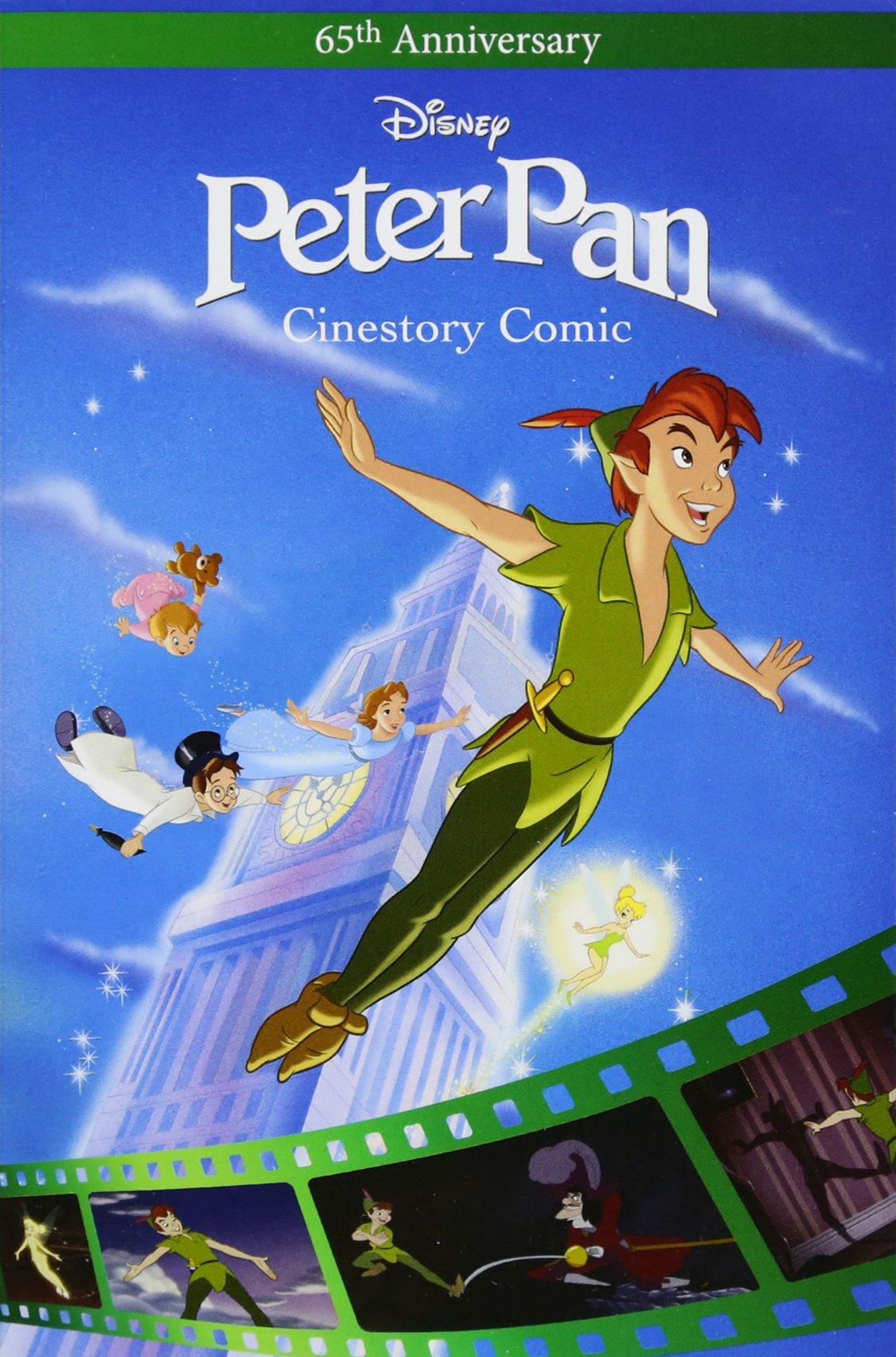 Amazoncom Disney Peter Pan Cinestory Comic 9781772756418 Disney