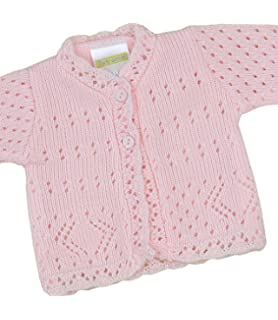 Clothing, Shoes & Accessories Analytical Baby Girls Knitted Cardigan Roughly Up To 3 Months