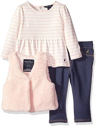 5d202962b Amazon.com  Nautica Baby Girls  Vest