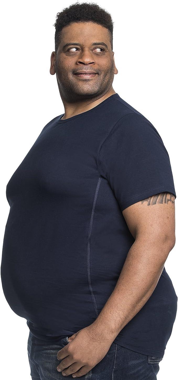 Alca Fashion Camiseta clásica Cuello Redondo T-Shirt para Hombre, Tallas Extra Grande XXL-B - 8XL-B | Alca Classic Tshirt Crew Neck tee: Amazon.es: Ropa y accesorios