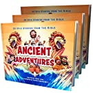 Ancient Adventures: 20 Epic Stories from The Bible – Children's First Illustrated Bible Stories - Short Bedtime Christian Stories from The Bible from Puppy Dogs & Ice Cream