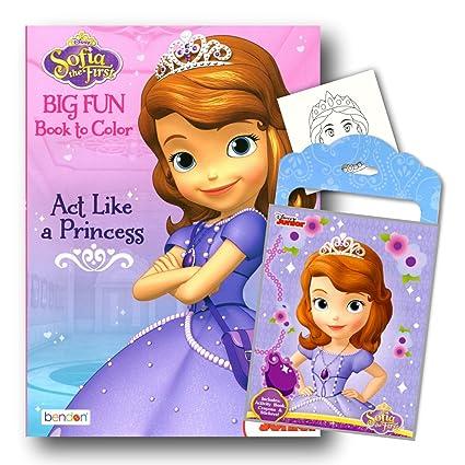 Amazon.com: Princesa Sofia the First paquete de libro para ...
