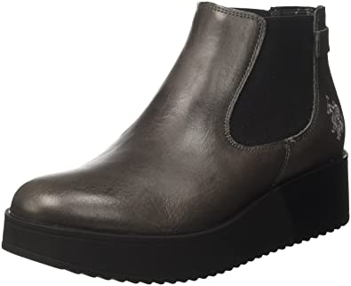 U.S.POLO ASSN. Damen Sapphire Leather Chelsea Boots: Amazon