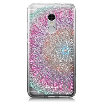 CASEiLIKE Funda Redmi Note 4, Carcasa Xiaomi Redmi Note 4, Arte de la Mandala 2090, TPU Gel Silicone Protectora Cover
