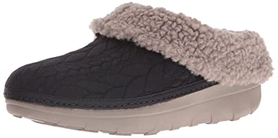 7a036be394b464 FitFlop Women s Loaff Quilted Slippers