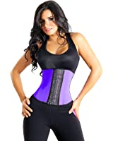 Waist Trainer Corset: 9 Reinforced Steel Bones – 100% Premium Latex and Cotton Cincher by Shape of You