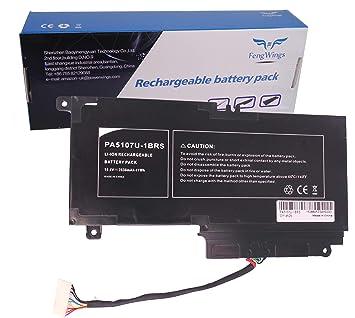 FengWings batería para 14.4 V 2838 mAh Toshiba Satellite PA5107U-1BRS L40-A L50-A C50-A l55-a S55-A P50T-A p55-a: Amazon.es: Electrónica