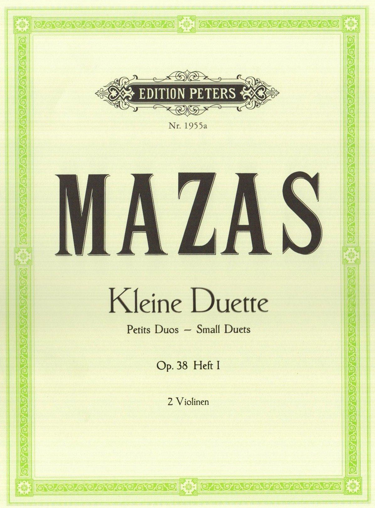 Kleine Duette op. 38: Band 1, Duett Nr. 1 - Duett Nr. 6 (für 2 Violinen)