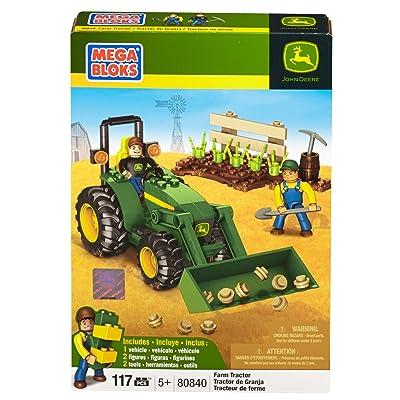 Mega Bloks John Deere Farm Tractor: Toys & Games