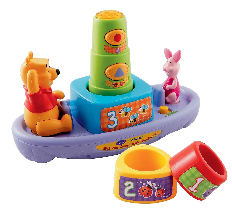 Amazon.com: VTech Winnie the Pooh Aprendizaje Stacker: Toys ...