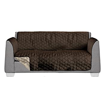 Fantastic Akc 75 X 119 Quilted Dog Cover For Couch Couch Protectors For Dogs Extra Large Sofa Covers Brown Tan Large Couch Cover Reversible Dog Couch Frankydiablos Diy Chair Ideas Frankydiabloscom