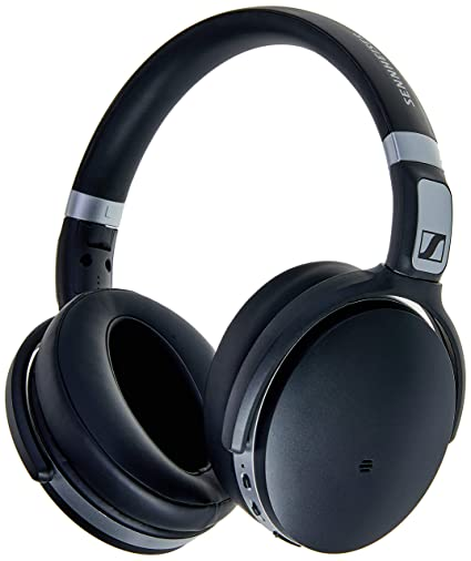 Sennheiser HD 4 50 Bluetooth Wireless Headphones with Active Noise  Cancellation, Black and Silver(HD 4 50 BTNC)
