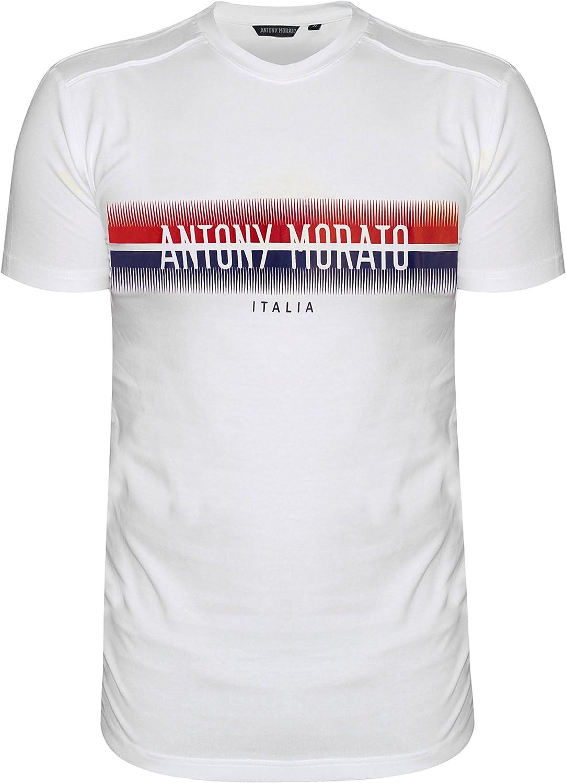 Antony Morato Camiseta Stampa DAV Blanca