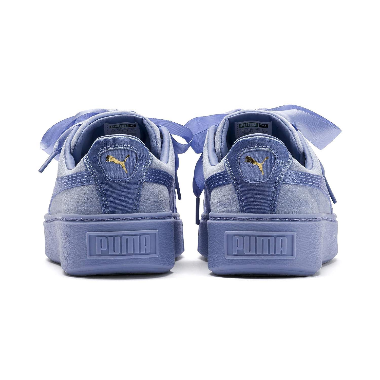 PUMA Platform Kiss Velvet Damen Sneaker: Amazon.co.uk: Shoes