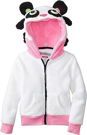 Hoodsbee Girls Prancy The Panda Hoodie