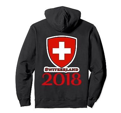 bb51f79481a6 Amazon.com  I Love SWITZERLAND Tshirt Soccer Tshirt SWISS Football TEE   Clothing