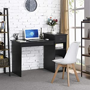Topeakmart Modern Compact Computer Desk Study