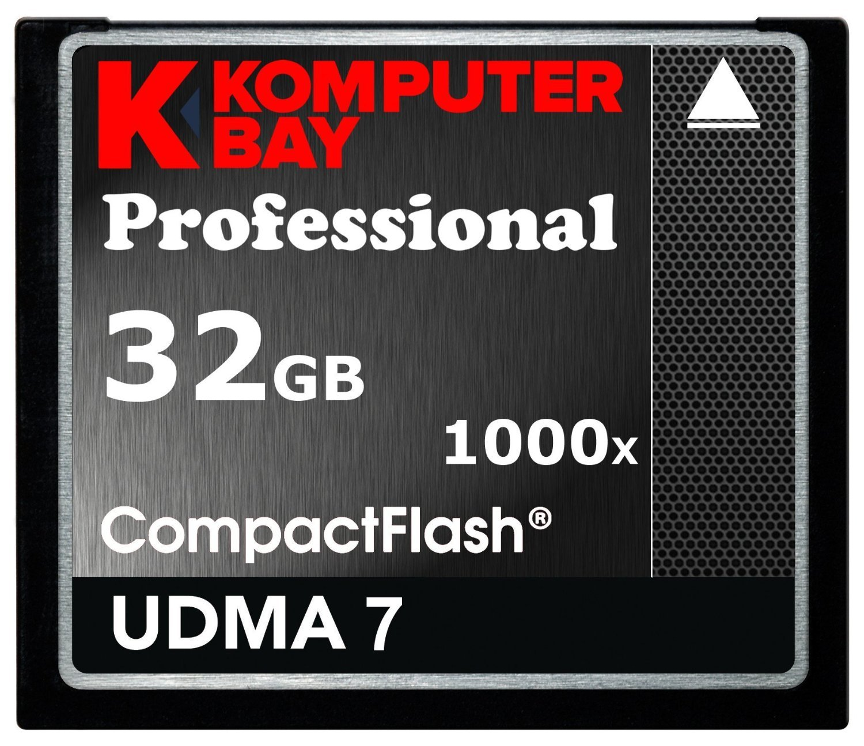 Komputerbay 32GB Professional Compact Flash scheda 800X CF 120MB/s Velocità estrema UDMA 7 RAW KB_32GB_COMPACTFLASH_800X