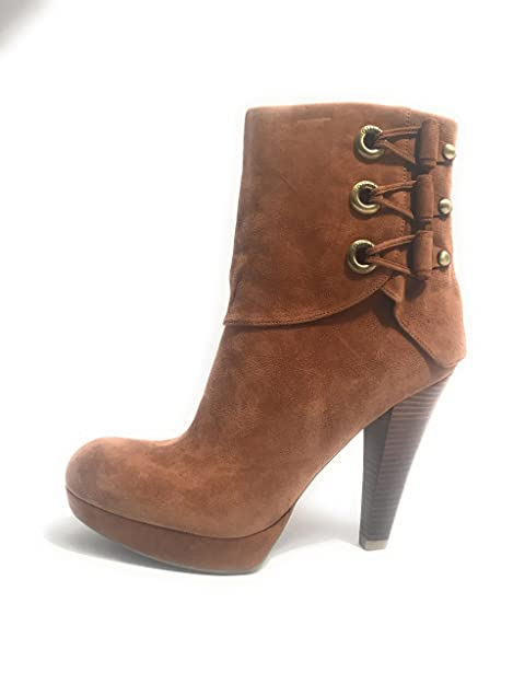 Zapatos mujer pelle stivaletto Guess  in pelle mujer scamosciata tabacco 08f8f4