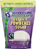 Wholesome Sweeteners, Powdered Sugar, Fair Trade Organic, 1 lb