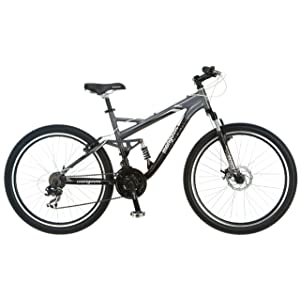 Mongoose Detour Full Suspension Bicycle
