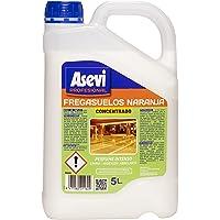 Asevi Profesional 21160 - Fregasuelos naranja concentrado, 5