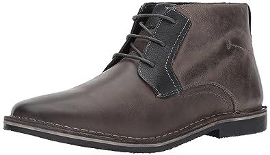 Steve Madden Men's Herrin Chukka Boot, Grey, ...