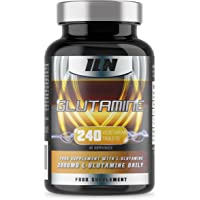 Iron Labs Nutrition, Glutamine - 500mg x 240 Tablets - L-Glutamine Supplement with 240 Vegetarian Tablets