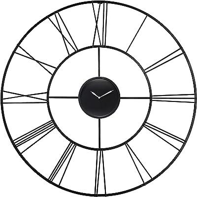 Infinity Instruments Modern Tower Clock, Black