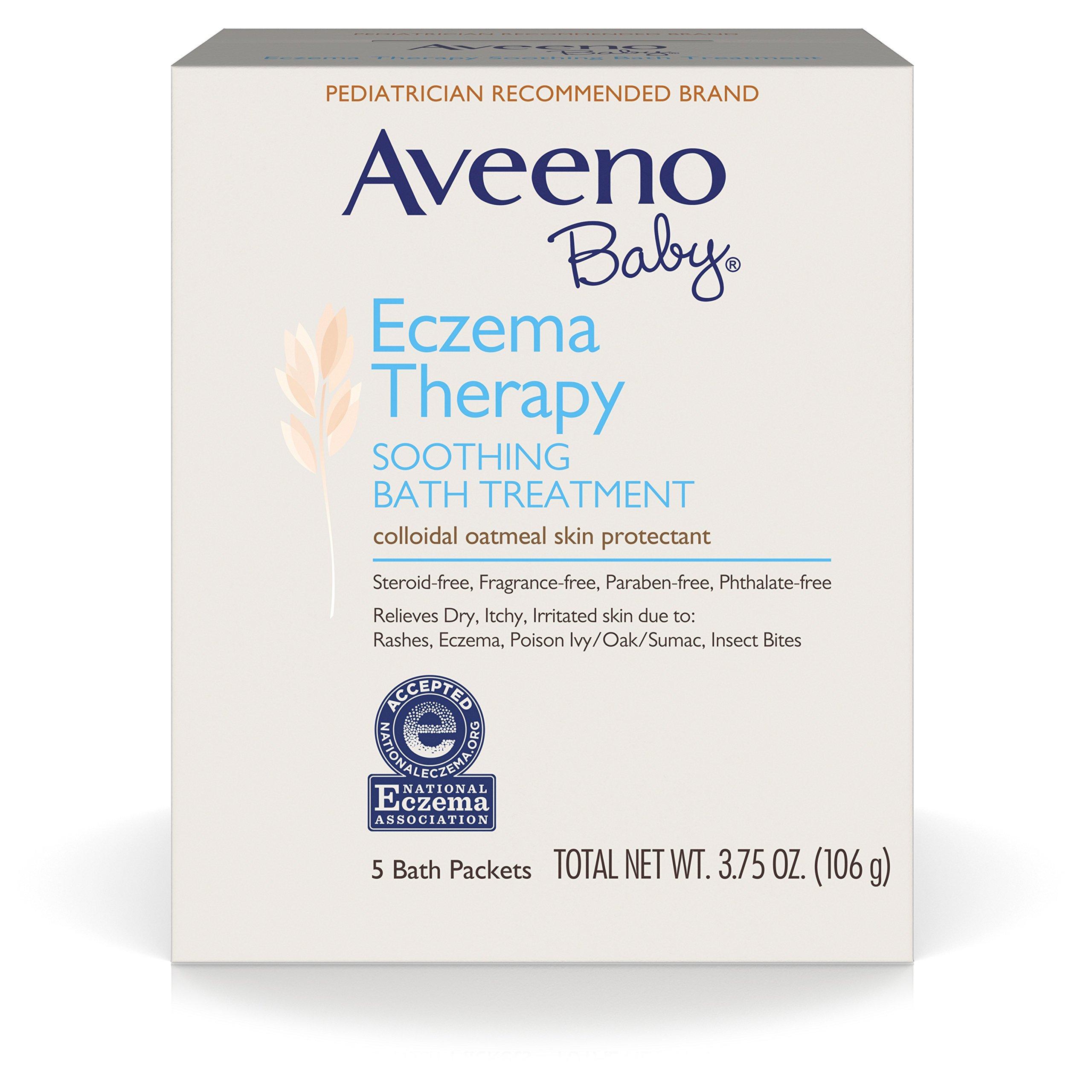 Amazon Com Aveeno Baby Eczema Therapy Moisturizing Cream