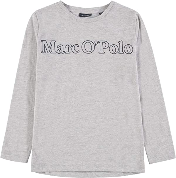 Marc O Polo Kids T-Shirt 1/1 Arm Camisa Manga Larga, Gris ...
